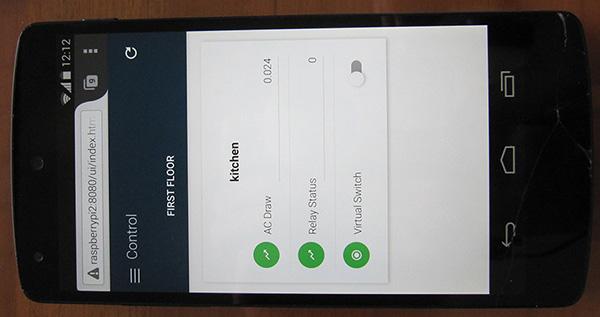 OpenHab Paper UI