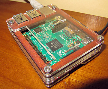 RaspberryPi2 in a Zebra case