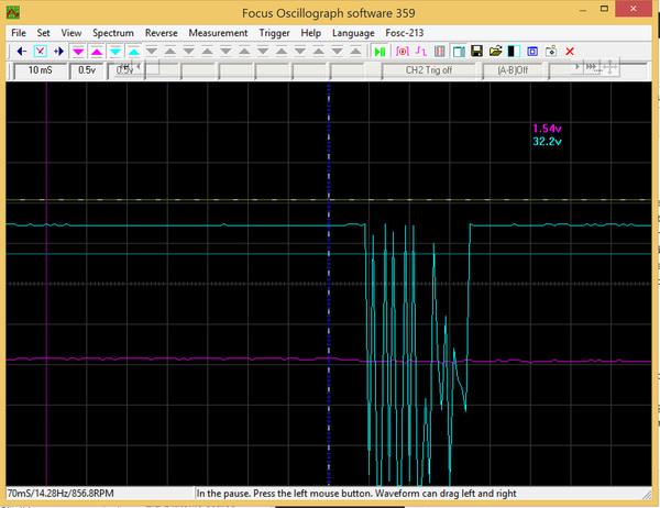 FocusOscillograph359 screenshot of uart 115200
