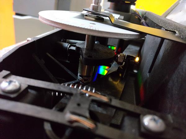 wavelength alignment adjustment screw